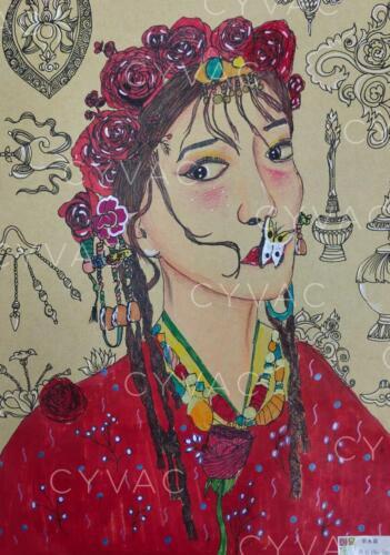单水蓝 Shuilan Shan – Age 9 – China